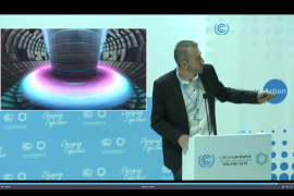 Presenting ITER and fusion at the COP24 climate conference